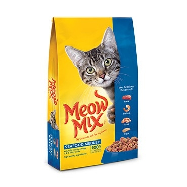 Meow Mix Seafood Medley Cat Food, 14.2 Lbs
