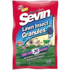 Sevin Lawn Insect Granules, 10 lbs.