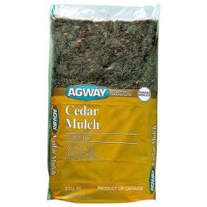 Agway Cedar Mulch, 3 cu. ft.