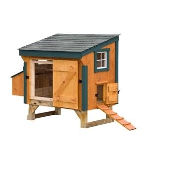 Lancaster Cedar Chicken Coop