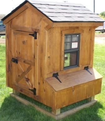 Chicken Coop 3x4 Quaker Style