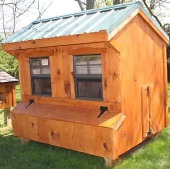 Chicken Coop 4x6 Quaker Style