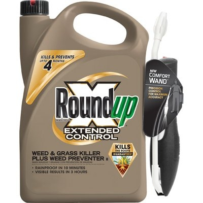 Roundup Extended Control Weed & Grass Killer Pump n Go, 1.33 gallons