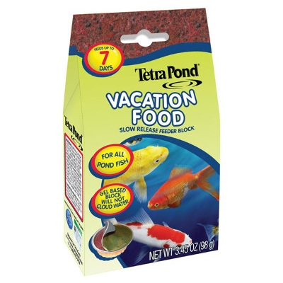 TetraPond Vacation Food