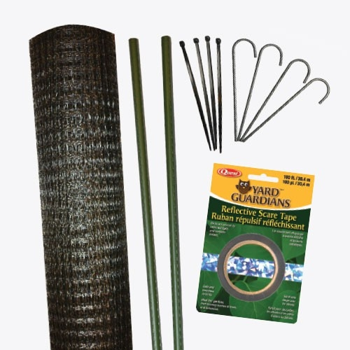 Deer Fence Kit with Stakes, 7 x 100 ft.