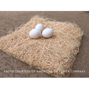 Excelsior Chicken Nesting Box Pads