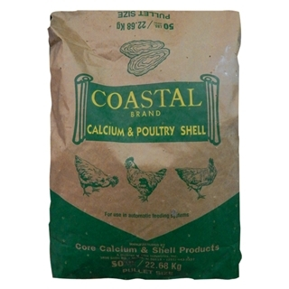 Coastal Brand Poultry Oyster Shell, 50 lbs.
