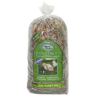 Organic Herbs & Timothy Hay, 20 oz.