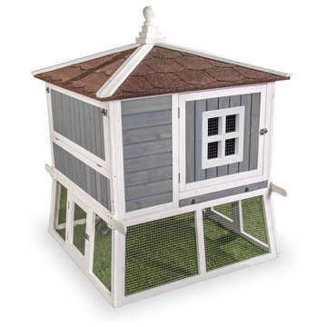 Pagoda Style Chicken Coop