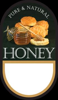 Honey Labels -Biscuit (100 pk)