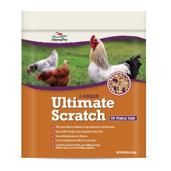 7-Grain Ultimate Scratch with Purple Corn, 10 lbs.