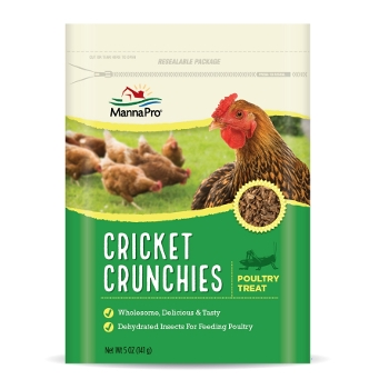 Cricket Crunchies Poultry Treat, 5 oz.