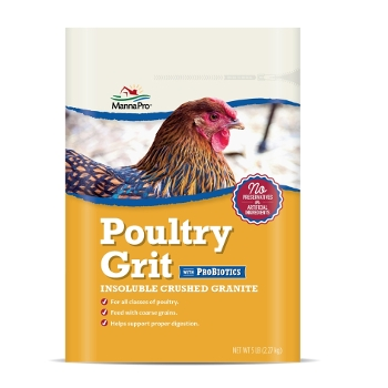 Poultry Grit with ProBiotics, 5 lbs.