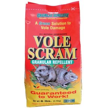 Vole Scram Granular Repellent, 6 lbs.