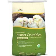 Manna Pro 19% Non-GMO Organic Starter Crumbles, 30 lbs.
