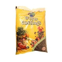 Wormganic Worm Castings, 1 cu. ft.