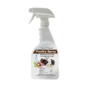 Pure Planet Natural Poultry Spray, 22 oz.