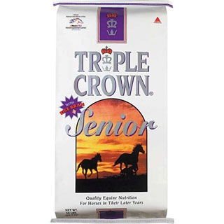 Triple Crown Senior Horse Feed, 50 lbs.