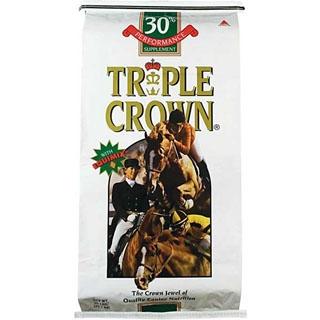 Triple Crown 30% Performance Pelleted Horse Supplement, 50 lbs.