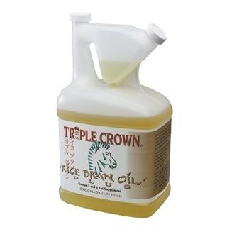Triple Crown Rice Bran Oil Plus, 1 gal.