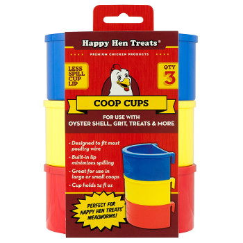 Happy Hen Treats® Coop Cups, 3 pk.