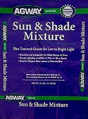 Agway® Sun and Shade™ Grass Seed, 25 lbs.