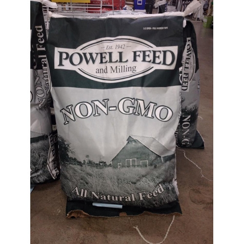 New! Powell Feed Non-GMO Feeds