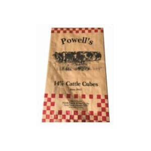 Powell's 14% Cattle Cubes