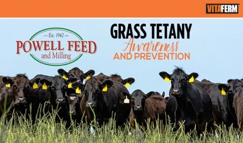Grass Tetany Awareness and Prevention