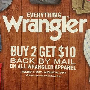Wrangler Back To School Savings!