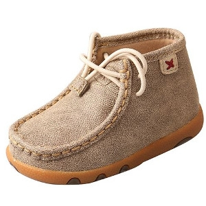 Infant Driving Moccasins – Dusty Tan