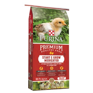 Purina® Start & Grow® Medicated Chick Starter with AMP .0125