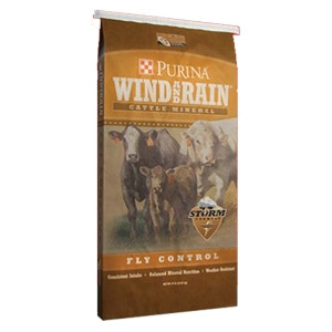 Purina® Wind and Rain® STORM™ Fly Control Minerals
