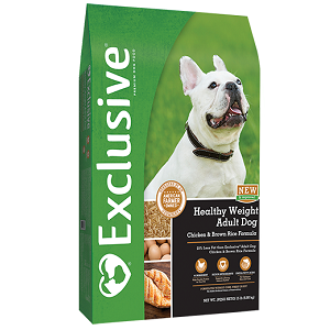 Exclusive® Healthy Weight Chicken & Rice Adult Formula
