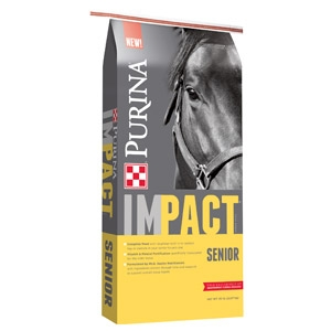 Purina® Impact® Senior Pelleted Horse Feed