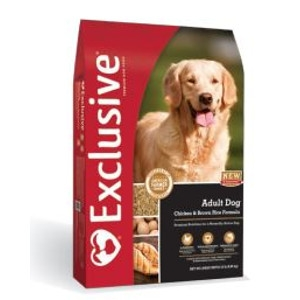 Exclusive Adult Chicken and Brown Rice Formula