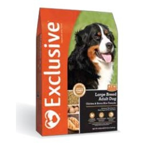 Exclusive Large Breed Adult Dog Chicken and Brown Rice Formula