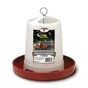 Little Giant® Plastic Hanging Poultry Feeder
