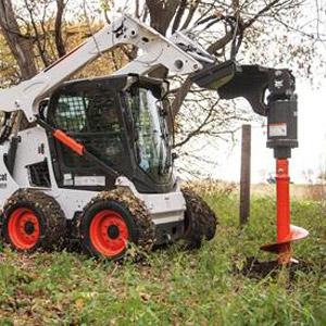 Bobcat® MT52 Auger Attachment