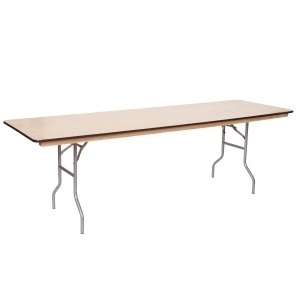 Rectangular Table 8'