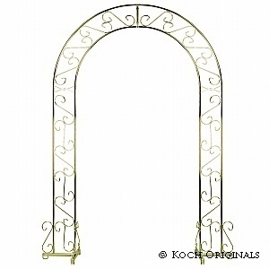 Wedding Arch Brass