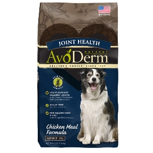 AvoDerm Joint Health Grain Free Chicken Meal Formula For Dogs 26lb