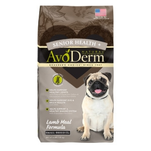 AvoDerm Senior Health+ Grain Free Lamb Meal Formula for Small Breeds - Dog 4lb