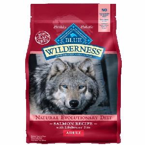 Blue Buffalo Wilderness Salmon Dog 4.5#