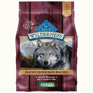 Blue Buffalo Wilderness Rocky Mountain Recipe Red Meat Dog 22#
