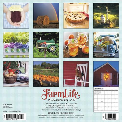 2017 Willow Creek Press Calendars