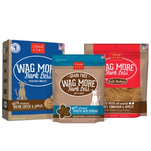 Wag More Bark Less Dog Biscuits & Soft Treats