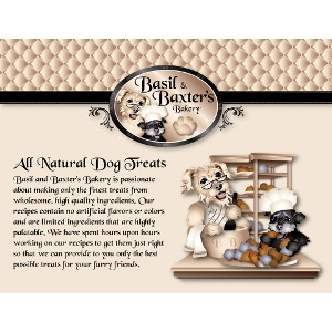 Basil & Baxter's Bakery Dog Biscuits