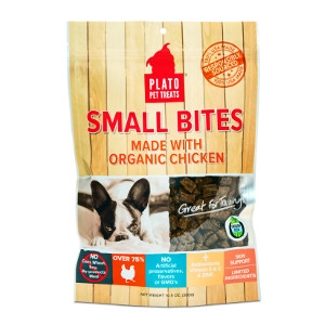 Plato Organic Chicken Treats