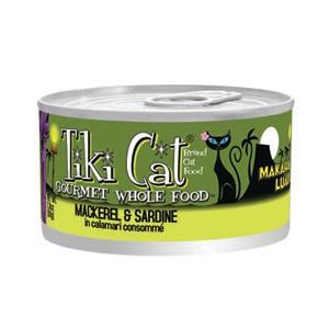 Tiki CatMakaha Luau Mackerel & Sardine